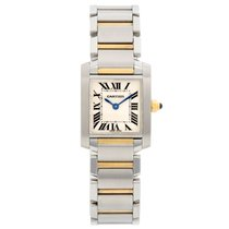 Cartier Tank Française Steel 20mm Champagne Roman numerals United States of America, Texas, Dallas