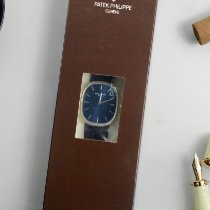 Patek Philippe Golden Ellipse Platinum 34.5mm Blue No numerals United States of America, Texas, Houston