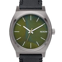 Nixon nuevo Cuarzo 37mm Acero Cristal mineral
