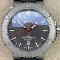Oris Steel Automatic Grey No numerals 43,50mm new Aquis Date