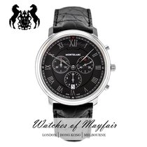 Montblanc Tradition Staal 42mm Zwart