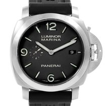 Panerai Luminor Marina 1950 3 Days Automatic pre-owned 44mm Black Date Rubber