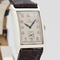 Omega Stříbro Ruční natahování Stříbrná Arabské 24mm použité