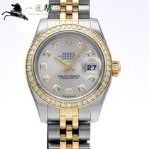 Rolex Lady-Datejust Steel 26mm Silver