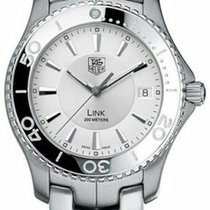 TAG Heuer Link Quarz Stahl 39mm Silber