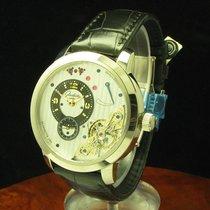 Glashütte Original PanoInverse XL White gold 42.4mm Silver