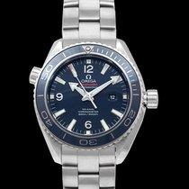 Omega Titanium Automatic Blue 37.5mm new Seamaster Planet Ocean