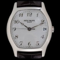 Patek Philippe White gold Automatic Silver 34mm pre-owned Gondolo