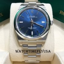 Rolex Steel Automatic Blue 39mm new Oyster Perpetual 39
