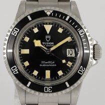 Tudor Submariner Steel 39.5mm Black