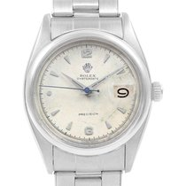 Rolex Oyster Precision Steel 34mm Silver Arabic numerals United States of America, Georgia, Atlanta