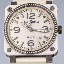 Bell & Ross Céramique 42mm Remontage automatique BR0392-WH-C-D/SRB occasion