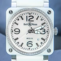 Bell & Ross BR 03-92 Ceramic Céramique 42mm Nacre Arabes