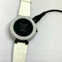 Louis Vuitton Staal 42mm Quartz Tambour tweedehands