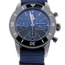 Breitling Superocean Heritage II Chronographe Сталь 44mm Синий