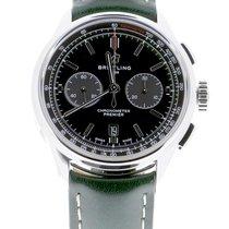Breitling for Bentley Сталь 42mm Зеленый