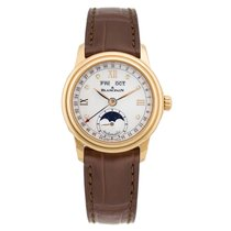 Blancpain Léman Moonphase Red gold 33mm Mother of pearl Australia