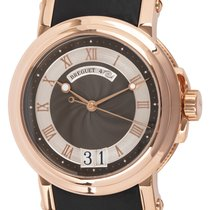 Breguet Marine 5817BR/Z2/5V8 Very good Rose gold 40mm Automatic