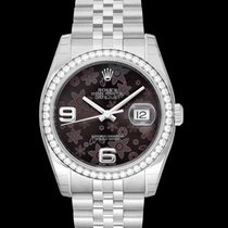Rolex Lady-Datejust White gold 36mm Brown United States of America, California, San Mateo