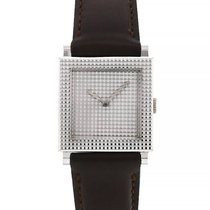 Boucheron White gold 23mm Manual winding pre-owned