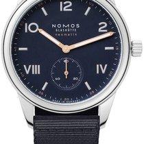 NOMOS Club Campus Neomatik Steel 39.5mm Blue United States of America, New York, Airmont