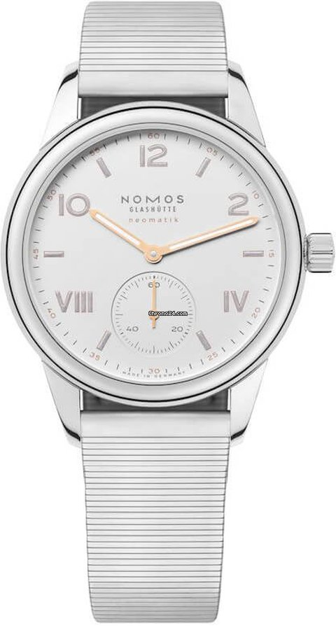 NOMOS Club Campus Neomatik 748 Stainless Steel Back 2021 new