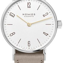 NOMOS Steel 32.8mm Manual winding 127 Sapphire Crystal Back new United States of America, New York, Airmont