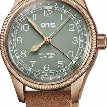 Oris 01 754 7749 3167-07 5 17 66BR Bronze Big Crown Pointer Date 36mm new