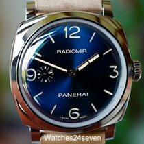 Panerai Radiomir 1940 3 Days Steel 47mm Blue Arabic numerals United States of America, Missouri, Chesterfield