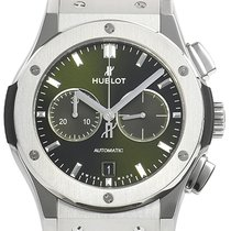 Hublot 541.NX.8970.LR Titanium 2021 Classic Fusion Chronograph 42mm new