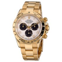 Rolex 16528 Yellow gold Daytona 40mm pre-owned United States of America, New York, Greenvale