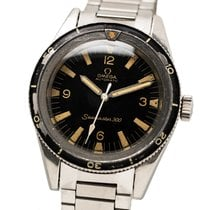 Omega ST 165.014 Steel 1965 Seamaster 300 38mm pre-owned