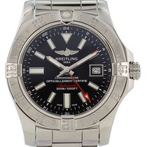 Breitling Avenger II GMT Steel 42mm Black United States of America, New York, New York