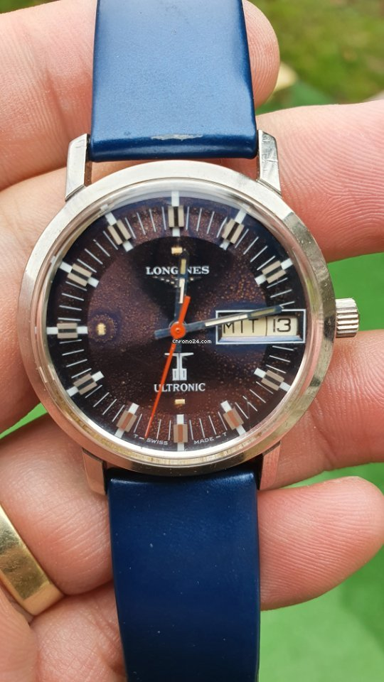 Longines Ultronic 209640 1978 pre-owned