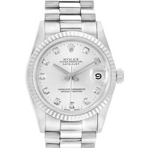 Rolex Lady-Datejust Oro blanco 31mm Plata