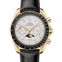Omega 304.63.44.52.02.001 Or jaune 2021 Speedmaster Professional Moonwatch Moonphase 44.2mm nouveau