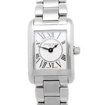 Frederique Constant FC-200MC16B Steel 2021 Classics Carree Ladies 23mm new