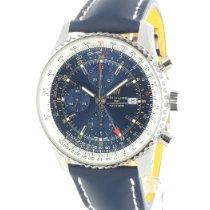 Breitling Navitimer World новые 2021 Автоподзавод Хронограф Часы с оригинальными документами и коробкой A2432212/C651/102X/A20D.1