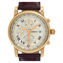 Montblanc Star Yellow gold 42mm Champagne United States of America, Florida, Surfside