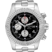 Breitling Super Avenger Steel 48.4mm Black Arabic numerals United States of America, Georgia, Atlanta