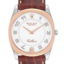 Rolex Cellini Danaos Rose gold 34mm White Arabic numerals
