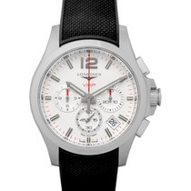 Longines Conquest Steel 42mm Silver