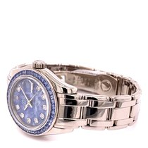 Rolex White gold Automatic Blue 29mm pre-owned