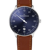 Meistersinger Neo Plus Steel 40mm Blue Arabic numerals