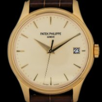 Patek Philippe Calatrava Yellow gold 39mm Champagne No numerals United States of America, New York, New York