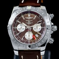 Breitling Chronomat 44 GMT AB042011/Q589 New Steel 44mm Automatic