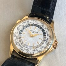 Patek Philippe 5110J-001 Yellow gold 2002 World Time 37mm pre-owned