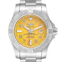 Breitling Avenger II Seawolf Steel 45mm Yellow Arabic numerals United States of America, Georgia, Atlanta