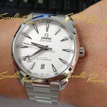 Omega Steel Automatic Silver No numerals 38mm new Seamaster Aqua Terra