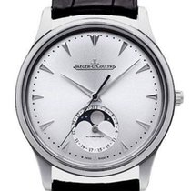Jaeger-LeCoultre Master Ultra Thin Moon Steel 39mm Silver No numerals